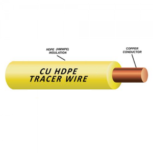 Solid Copper Tracer Wire (30 or 45 mil)