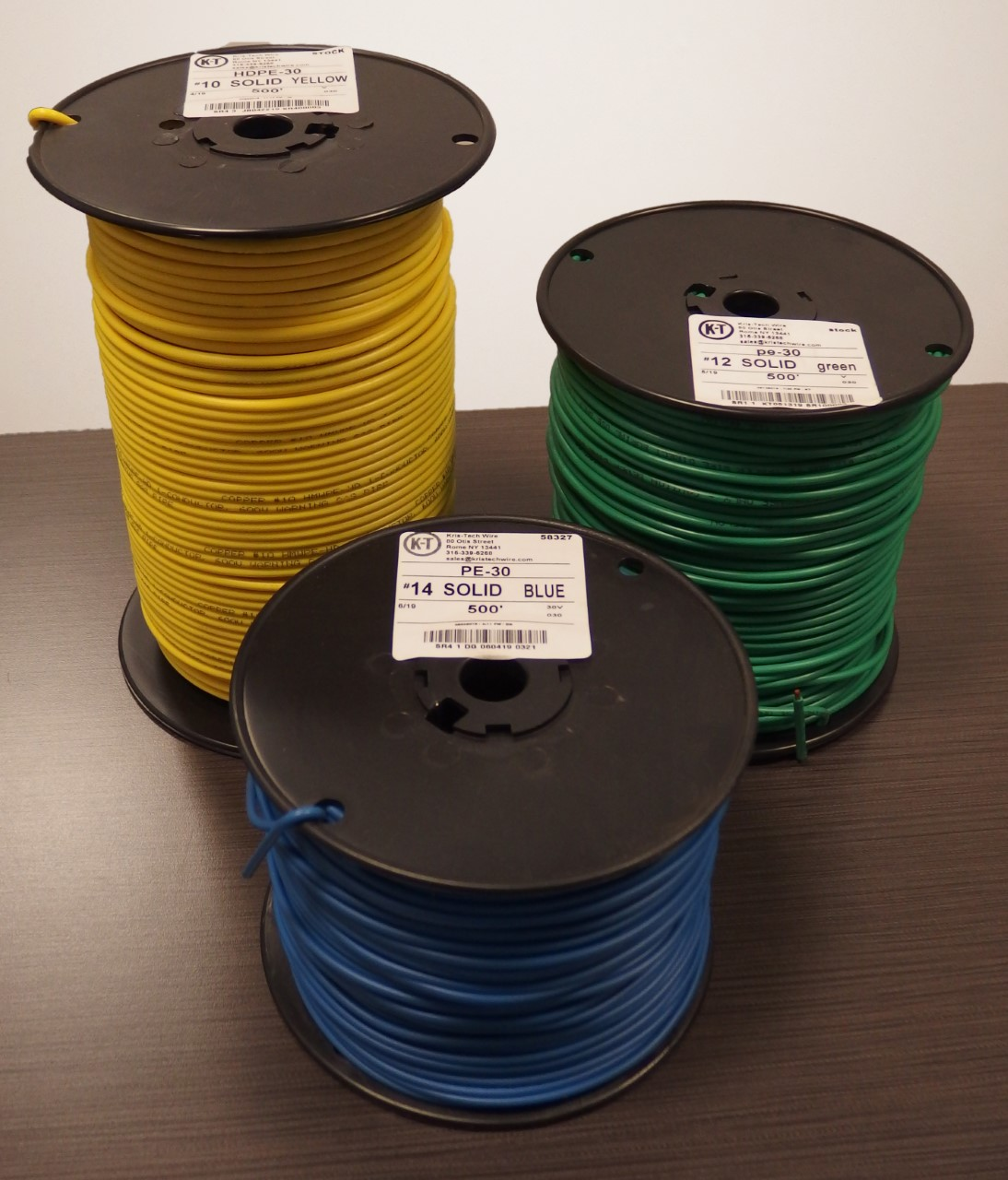 Copper Clad Tracer Wire (30 or 45 mil) on